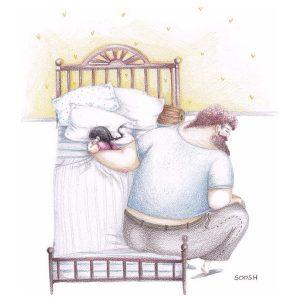 Bộ tranh xúc động về tình yêu bố dành cho con gái