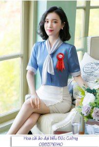 Mã số 01 – Hoa cài áo đại biểu