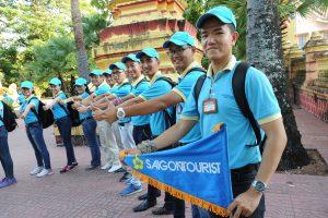 Cờ dẫn tour – cờ dẫn đoàn